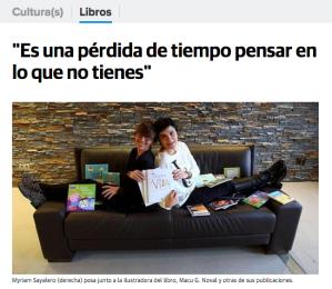 Entrevista en El Diario Montañes - Diciembre 2014